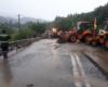 Pe trei drumuri naționale traficul este oprit, pe două se circulă îngreunat după ploi