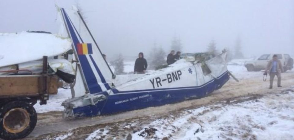 Dosarul accidentului aviatic din Apuseni, din 2014, a fost clasat partial de procurori