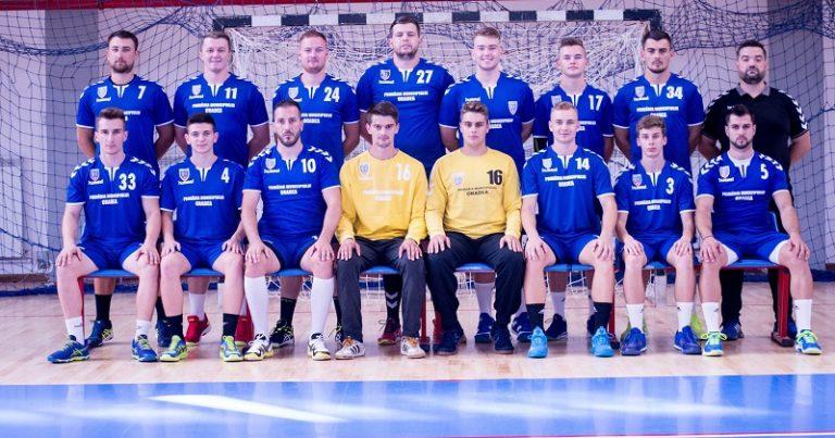 Echipa de handbal masculin CSM Oradea a disputat primele jocuri de verificare
