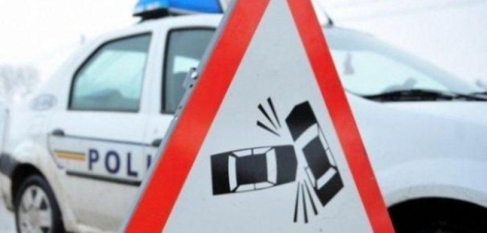 Trei autoturisme, implicate într-un accident rutier pe raza localității Roșiori