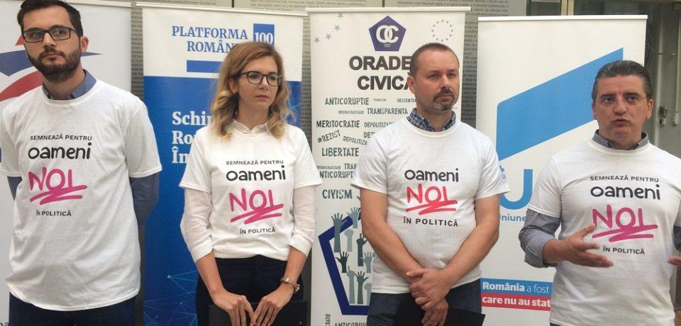 """S-a lansat la Oradea inițiativa cetățenească """"Oameni noi în politică"""". Video"""