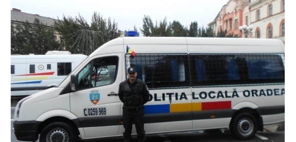 Primaria Oradea angajeaza politisti locali