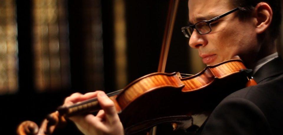 Alexandru Tomescu şi vioara Stradivarius au fermecat publicul oradean