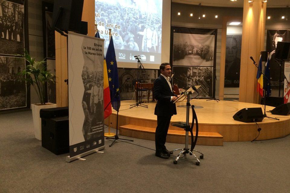 Centenarul Unirii, celebrat la Bruxelles, la iniţiativa eurodeputatului Emilian Pavel