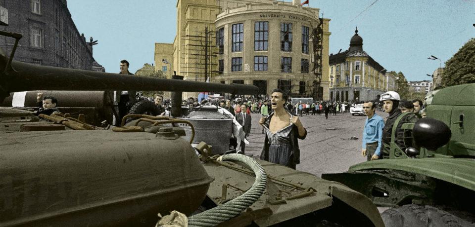 """""""România, Slovacia și Cehia la 50 de ani de la Invazia Trupelor Pactului de la Varșovia"""""""