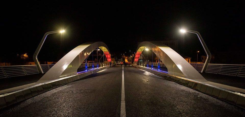 Podul Centenarului din Oradea se deschide luni, 3 decembrie si traficului rutier
