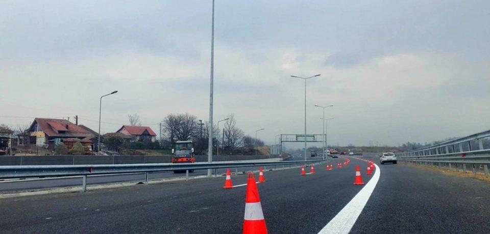Tronsonul de autostradă A1 dintre Deva și Simeria a fost redeschis circulației