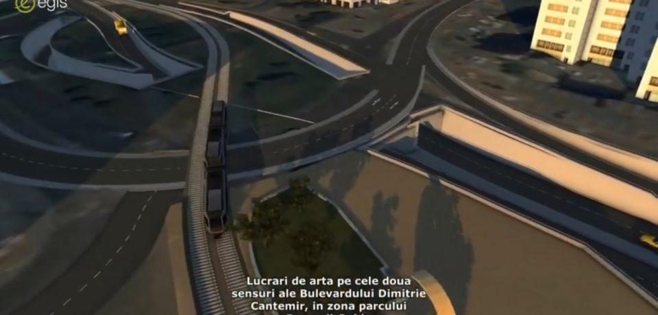 Cum va arata Centrul Civic dupa reabilitare. Video 3D