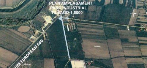 Start pentru construirea și amenajarea Parcului Industrial Tileagd