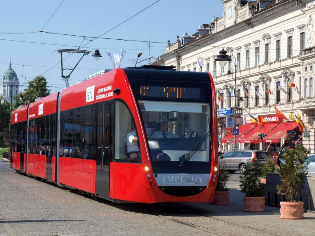 Viorel Pop: 3 tramvaie noi vor ajunge in Oradea, in 2019