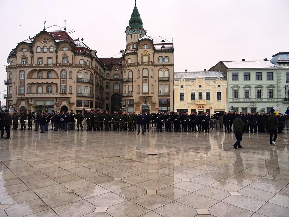 Ziua Unirii Principatelor Române a fost sărbătorită în Piața Unirii. Comunicat