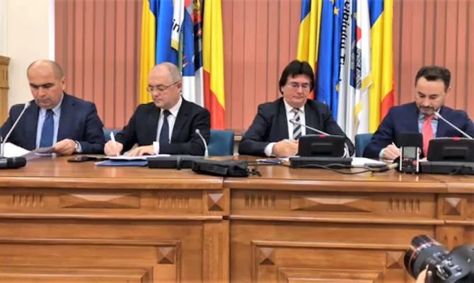 Primele colaborari ale Aliantei Vestului. Reprezentantii celor 4 primarii s-au intalnit la Timisoara