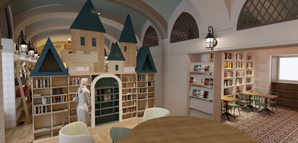 Ziua Internaţională a cărţilor pentru copii e marcată şi la…castelul fermecat din Oradea