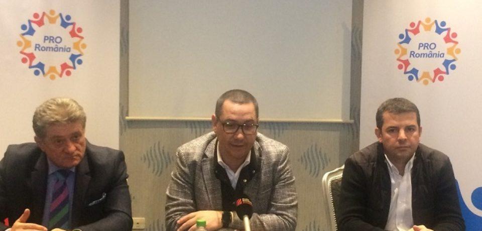 Victor Ponta la Oradea: Pro Romania nu e un PSD mai mic