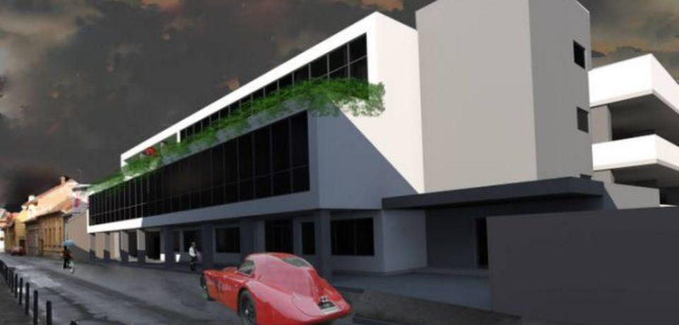 S-a semnat contractul pentru proiectarea parcării de pe str. George Barițiu