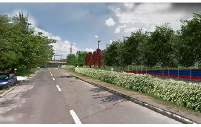 Coridorul verde din strada Barcăului va fi gata până la toamnă