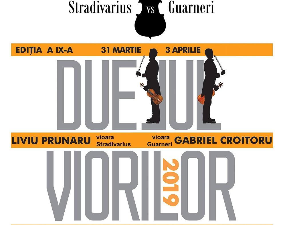 """Duelul viorilor la Teatrul """"Regina Maria"""""""