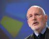 VIDEO Timmermans: Kovesi este un procuror excelent. Nu poate exista nicio amnistie pentru politicienii corupți