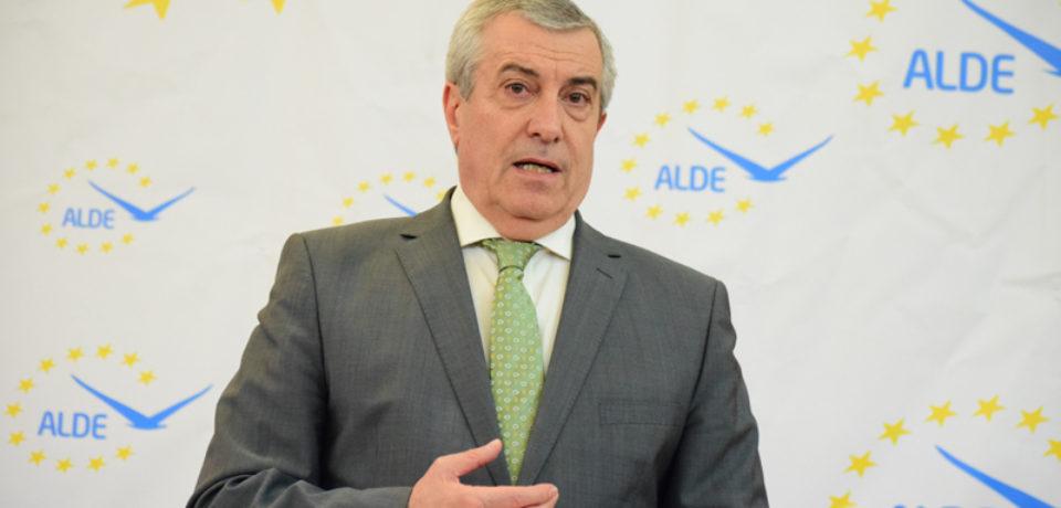 Călin Popescu Tăriceanu, desemnat candidatul ALDE la prezidenţiale
