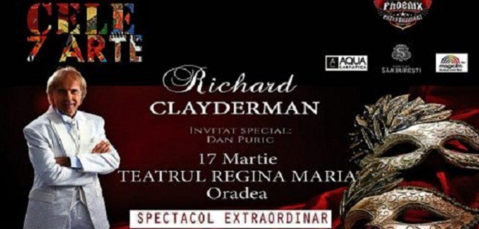 Richard Clayderman invită orădenii într-o călătorie fascinantă în universul artei