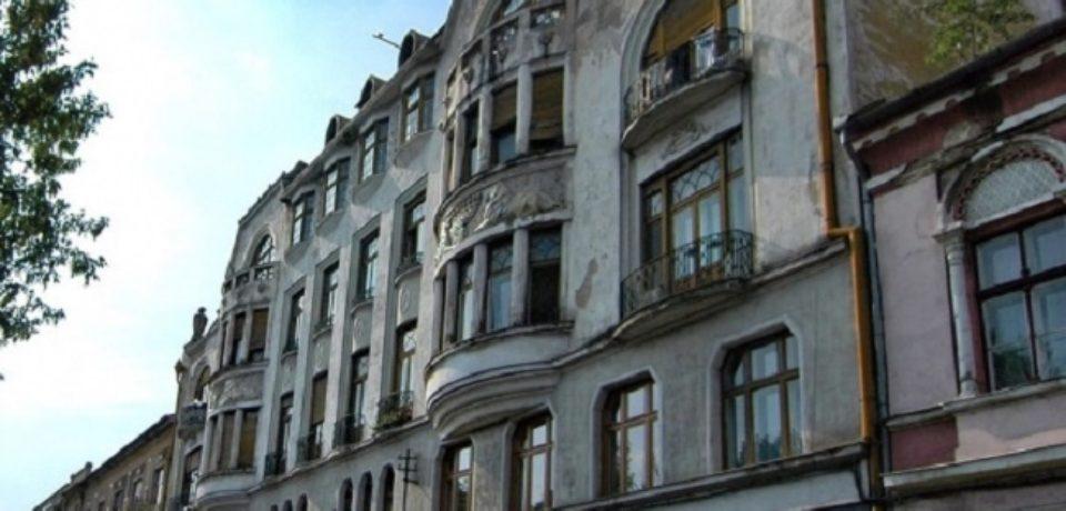 Fațadele și învelitorile Palatului Ullmann se vor reabilita