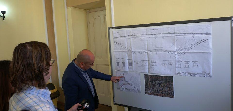 O pasarelă pietonală supraterană peste centură va fi realizată în zona Calea Aradului – strada Ogorului