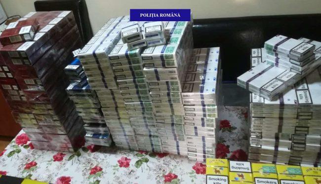 18 bihoreni sunt bănuiți de contrabandă cu țigarete nemarcate corespunzător