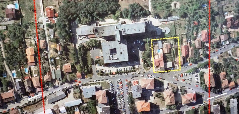 Parcarea supraterană din zona Spitalului Clinic Județean, operațională la finalul anului 2020