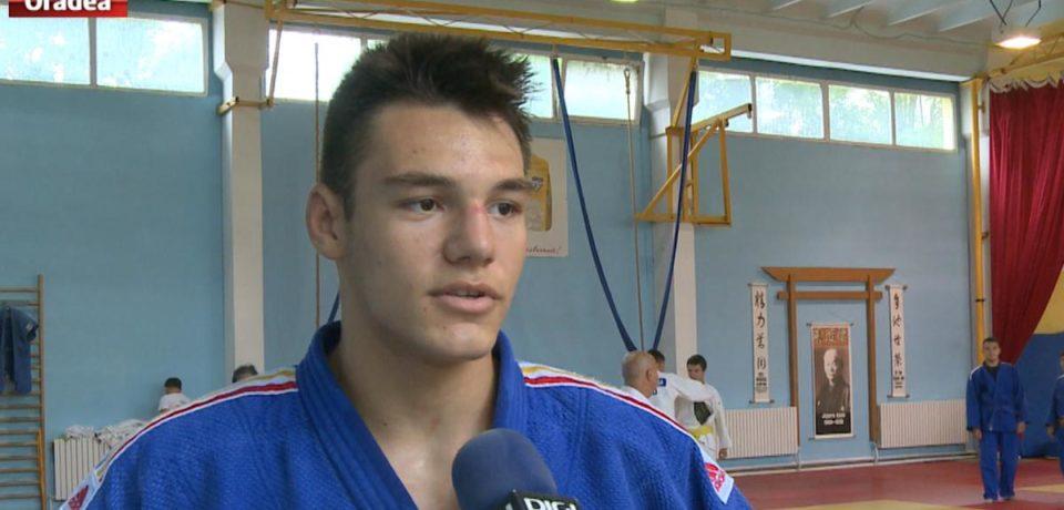 Alex George Cret, medaliat cu aur la Cupa Europeana de judo cadeti de la Teplice