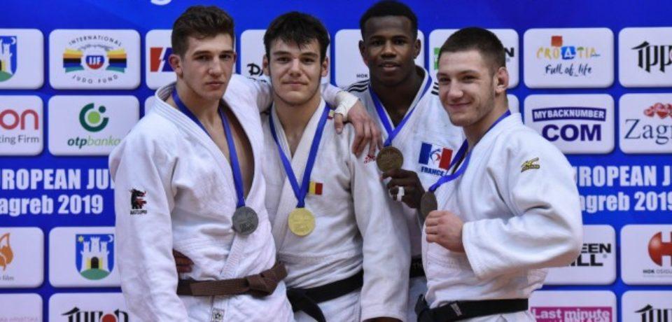 Medalie de aur pentru Alex George Creț la Cupa Europeană pentru cadeți de la Zagreb