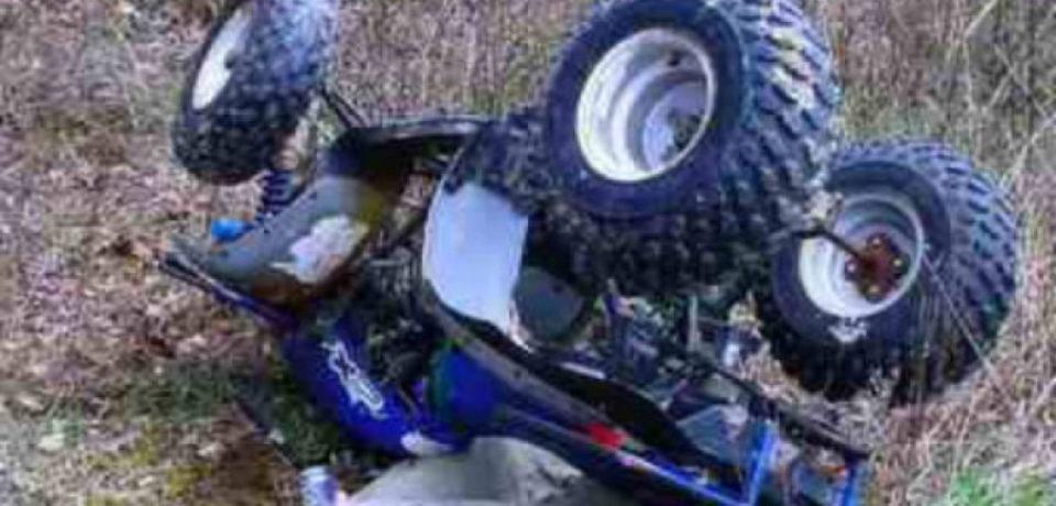 Un bihorean și-a pierdut viața dupa ce s-a răsturnat cu ATV-ul
