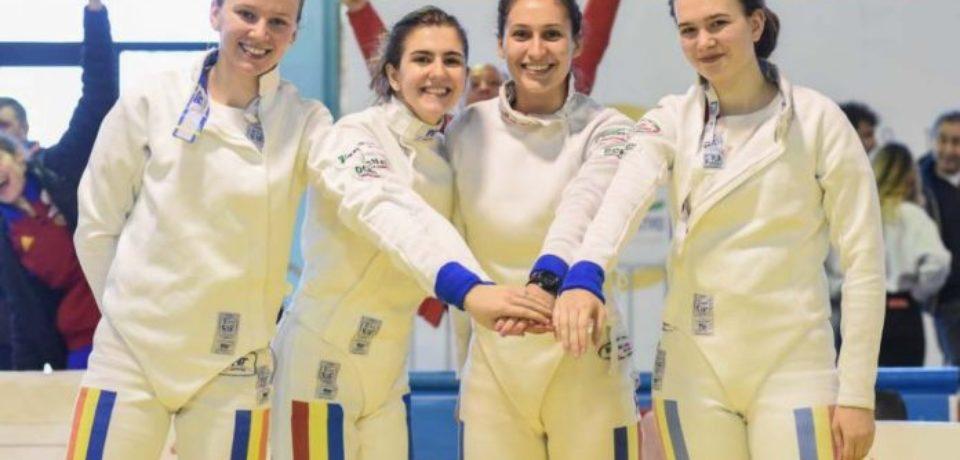 Parcurs foarte bun pentru Bianca Benea în proba de spadă feminin pe echipe la Europeanul de scrimă juniori