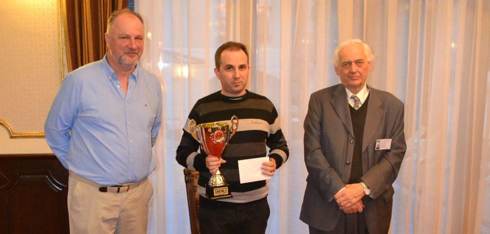 """Memorialul """"Dan Mihai Carțiș"""" la șah rapid și-a desemnat câștigătorii"""