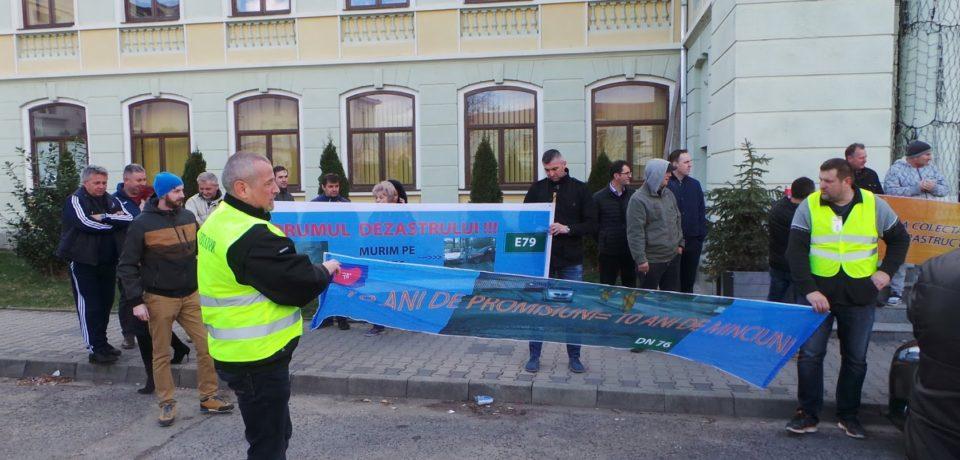 Reactia CNAIR dupa protestul de la Stei: Lucrările de reabilitare pe DN 76 (Deva – Oradea) continua si in 2019