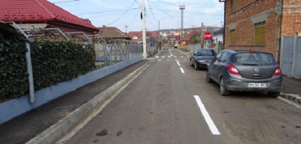 Se execută lucrări de modernizare pe încă trei străzi din municipiu