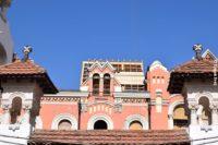 Se lucrează la refacerea acoperişului Palatului Episcopal Greco-Catolic