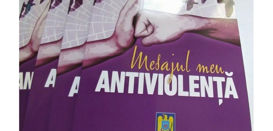 """O nouă ediție a concursului """"Mesajul meu Antiviolență"""", în școli din Bihor"""