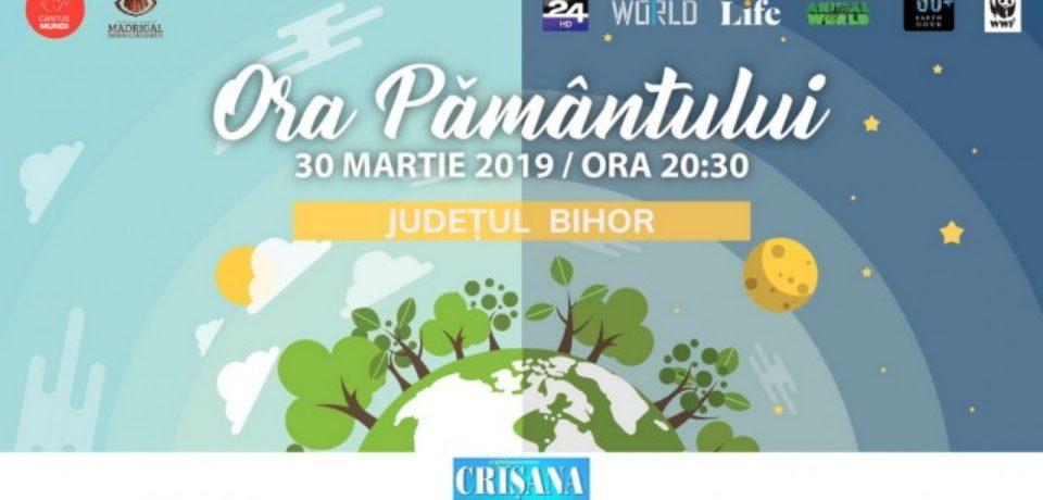 """""""Ora Pământului"""", marcată la Oradea sâmbătă, 30 martie"""