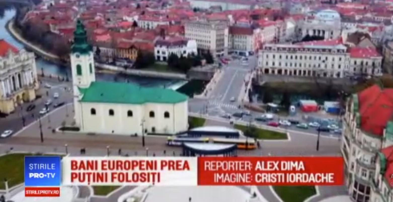 Duminica, Pro TV difuzeaza o noua emisiune despre Oradea. Video