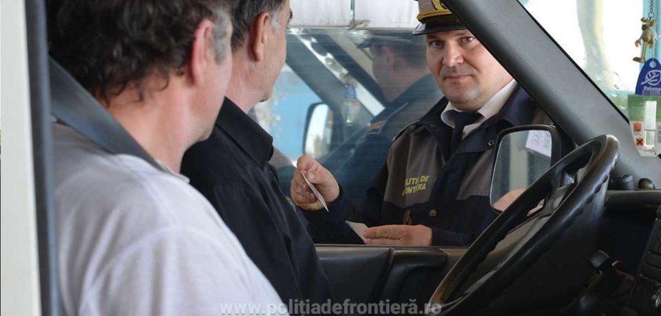 Cu permis de conducere fals, un român a vrut sa treacă fontiera pe la Salonta