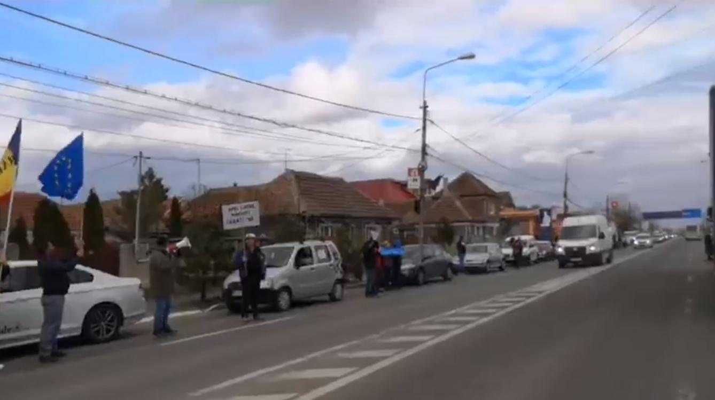 Oradea vrea autostrazi. Cum a aratat protestul #Sîeu  in Bihor