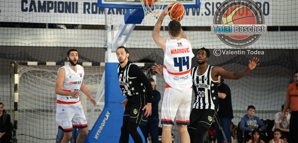 Baschetbalistii de la CSM CSU Oradea bifează prima victorie contra clujenilor în acest sezon competițional