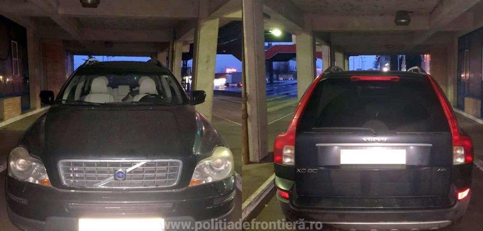 Autoturism căutat în Spania, depistat de poliţiştii de frontieră de la Borș