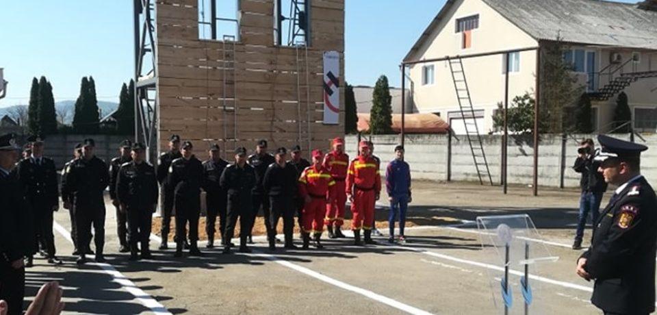 Inaugurarea Turnului de instrucție din cadrul Stației de Pompieri Aleșd