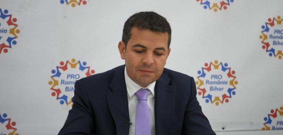 """Daniel Constantin, la Oradea: """"Direcția Pro România este cea europeană"""". VIDEO"""
