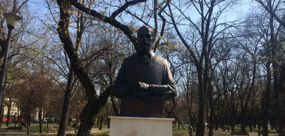 Bustul lui Emmanuel de Martonne a fost dezvelit în Parcul 1 Decembrie