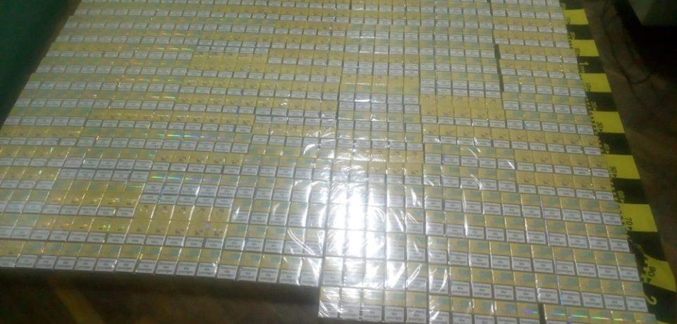 30.000 de țigarete nemarcate legal, confiscate de polițiștii salontani de la o localnică
