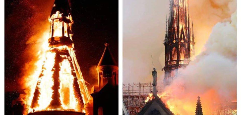 Mesajul PSS Virgil Bercea în urma incendiului Catedralei Notre Dame din Paris