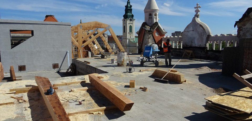 Acoperișul Palatului Episcopal Greco-Catolic va fi refăcut până la mijlocul lunii iunie