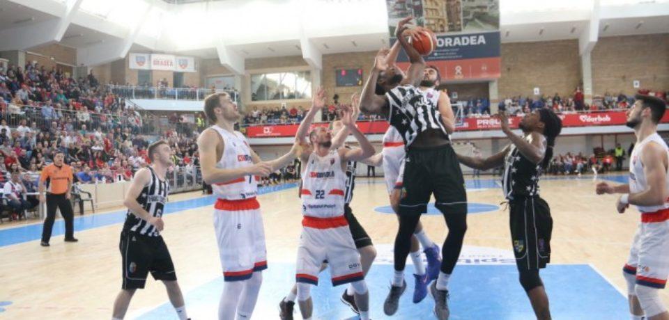 CSM CSU Oradea s-a calificat în finala Ligii Naționale de baschet masculin